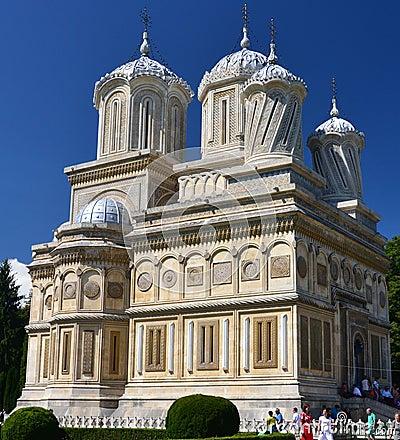Arges Monastery, Curtea de Arges Editorial Stock Photo