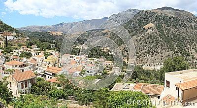 Argiroupolis village, Crete