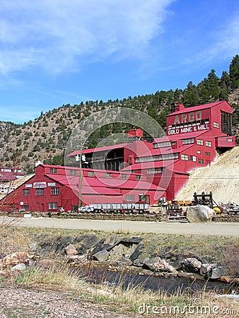 Argo Gold Mine & Mill Editorial Image