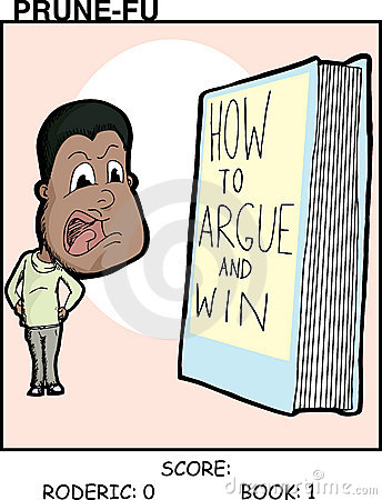 Argument With Book