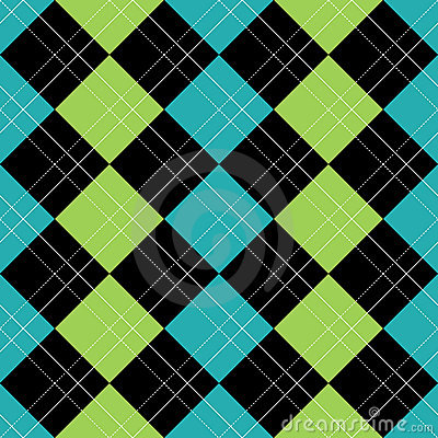 Free Argyle Pattern Blue EPS Stock Image - 15765241