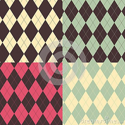 Argyle Patterns Royalty Free Stock Photos - Image: 28180288