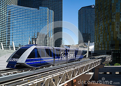 Aria Express Las Vegas Editorial Stock Image