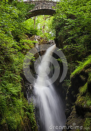 Free Aria Force Falls Royalty Free Stock Images - 53134319