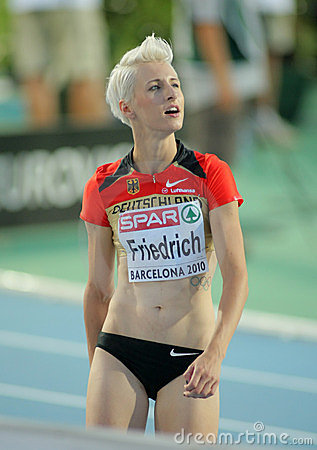 Ariane Friedrich of Germany Editorial Stock Photo