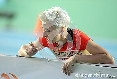 Ariane Friedrich of Germany Editorial Photo