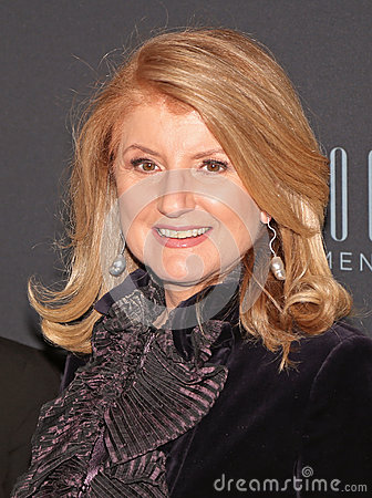 Arianna Huffington Editorial Photo