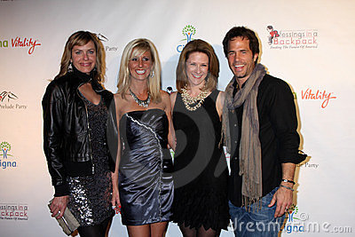 Arianne Zucker, Shawn Christian Editorial Stock Image