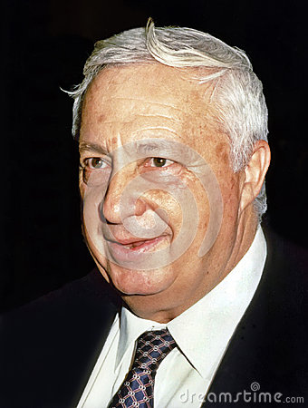 Ariel Sharon Editorial Stock Image