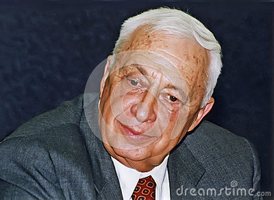 Ariel Sharon Editorial Photography