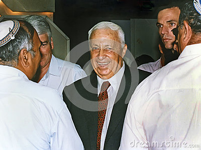 Ariel Sharon Editorial Photo