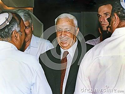 Ariel Sharon Editorial Photo