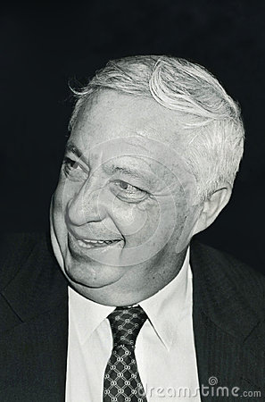 Ariel Sharon Editorial Stock Photo
