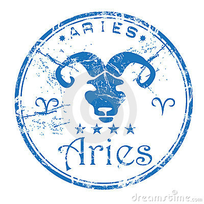 Aries rubber stamp