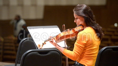 Arina Shevliakova na próbie