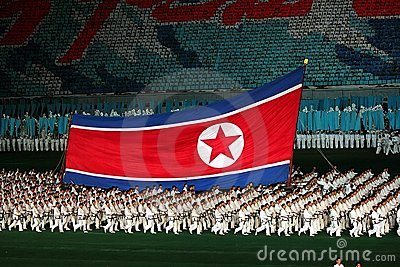 Arirang Mass Games 2011 in DPRK Editorial Photo