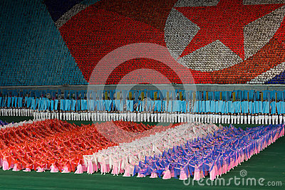 Arirang Mass Games 2011 in DPRK Editorial Image