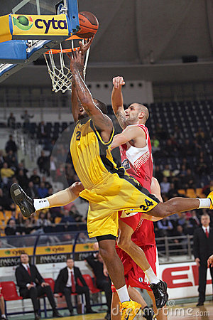 Aris BSA vs Cedevita Zagreb Editorial Photography