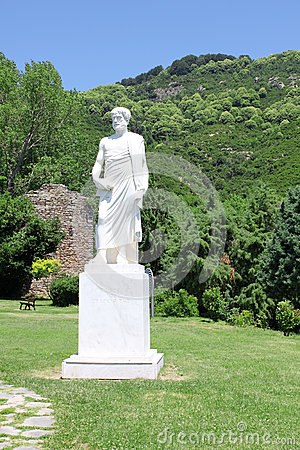 Aristotle Statue Royalty Free Stock Photos - Image: 25596908