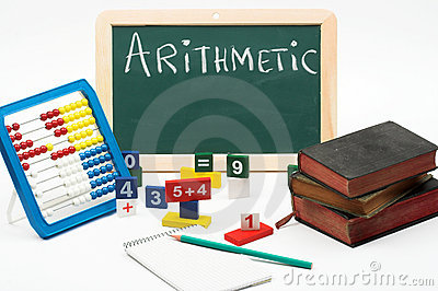 Arithmetic Stock Photos - Image: 10570493
