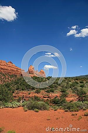 Arizona desert scenery