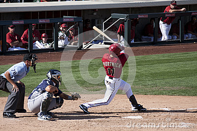 MLB Cactus League Spring Training Game Editorial Stock Image
