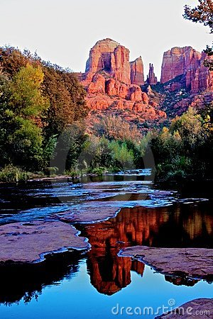 Arizona katedry skały sedona