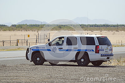 Arizona patrull Redaktionell Foto