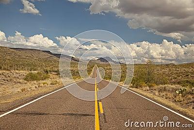 Arizona s Bagdad Road (SR 96)