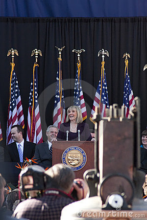 Arizona s Governor Jan Brewer Editorial Image