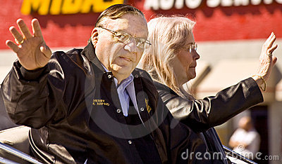 Arizona Sheriff Joe Arpaio Editorial Stock Image