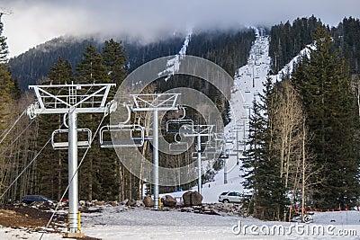 Arizona Snowbowl Grand Canyon Express Ski Lift Opening Celebration Free Public Domain Cc0 Image