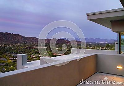 Arizona Southwest Home Backyard Patio Deck