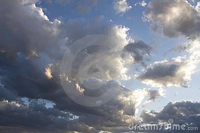 Arizona Storm Cloud Skies