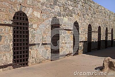 Arizona Territorial Prison in Yuma, Arizona, USA