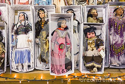 ARIZONA, USA - MAY 2013, traditional mexican dolls Editorial Image