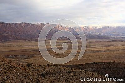 Arizona Vermilion Cliffs landscape