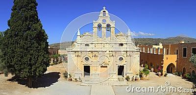Arkadi monastery panorama