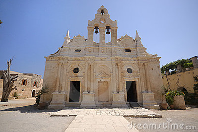 Arkadi old monastery, Crete, Greece