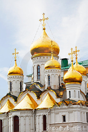 Arkhangelsk cathedral in Kremlin