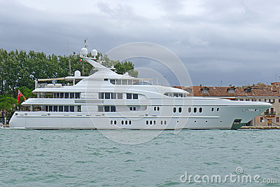 Arkley Luxury Boat Editorial Stock Image