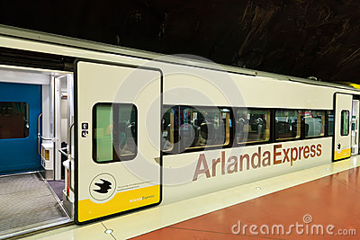 Arlanda express Editorial Photography