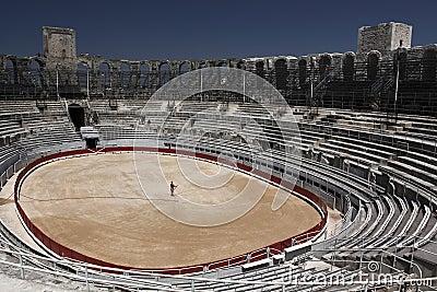 Arles amphitheatre Editorial Image