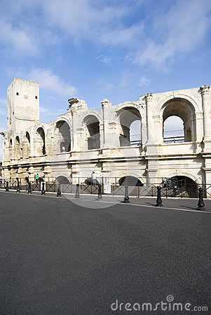 Arles Amphitheatre Editorial Stock Image