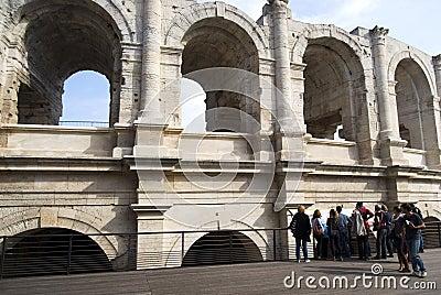 Arles Amphitheatre Editorial Stock Image