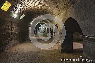 Arles underground roman ruins