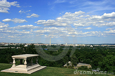 Arlington View of D.C.