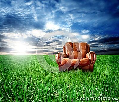 Arm-chair