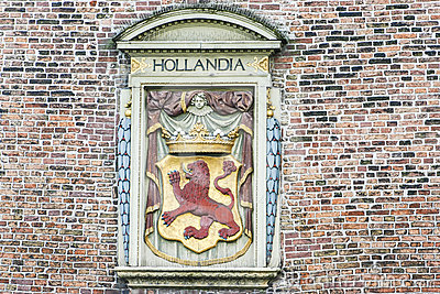 Arm of Coat and Hollandia Bas Relief