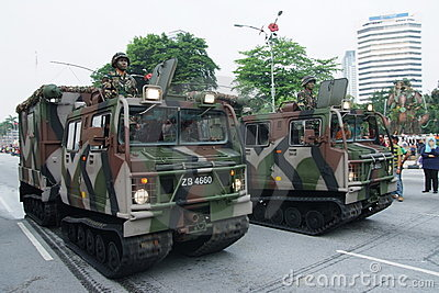 Arm forces parade Editorial Stock Image